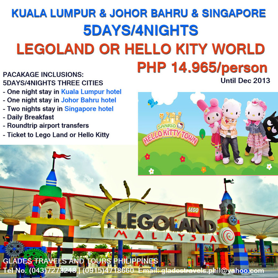 Hello Kitty Land Malaysia Land Tour or Hello Kitty